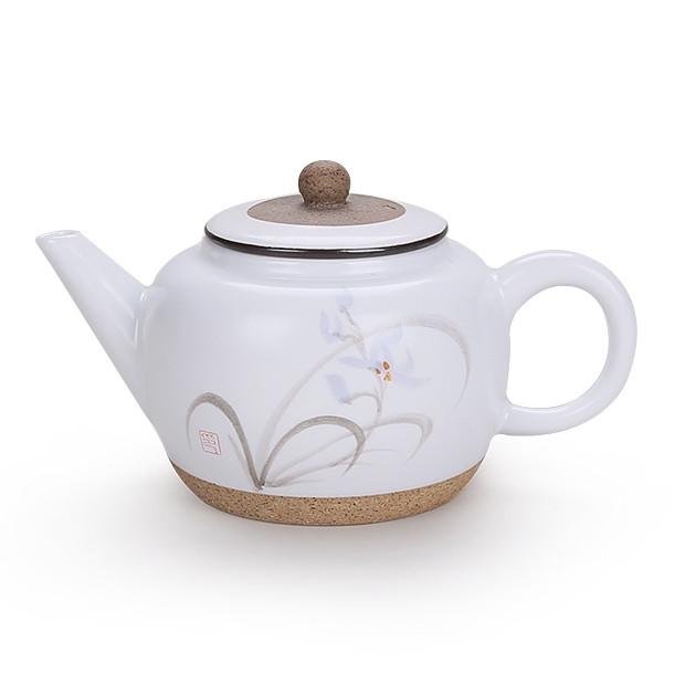 Заварочный чайник керамический Орхидея