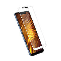 Защитное стекло Mocolo для Xiaomi PocoPhone F1 Full Cover White (0.33 мм)