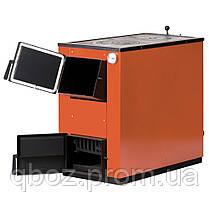 Твердотопливный котел MaxiTerm (макситерм) 20 кВт с варочной плитой., фото 2