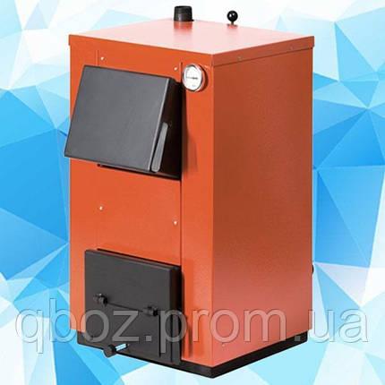 Котел твердотопливный MaxiTerm (Макситерм) 14 кВт без плиты, фото 2
