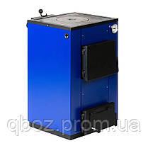 Твердотопливный котел Макситерм 12 кВт с плитой. Серия Кантри, фото 2