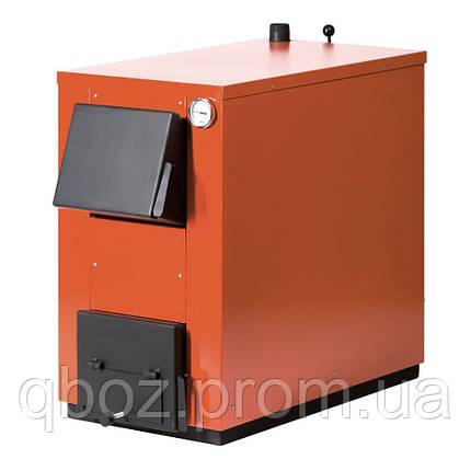 Твердотопливный котел Макситерм 20 кВт без плиты, фото 2