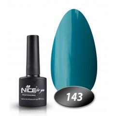 Гель-лак Nice for you № 143 (бирюзовый), 8,5 мл