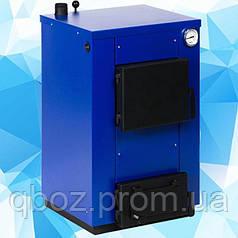 Твердотопливный котел Maxiterm (макситерм) 12 кВт без плиты. Серия Кантри