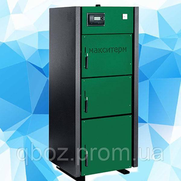 Твердотопливный котел длительного горения Макситерм Профи мощностью 17 - 80 кВт
