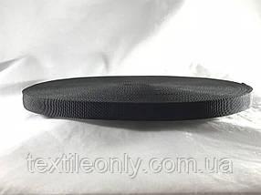 Лента ременная Мерам черная 15 мм