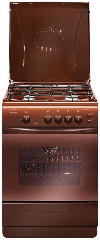 Плита газовая GEFEST 1200-C6 K19 коричневая