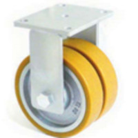 Сдвоеное большегрузное колесо из полиуритана 4607-DSTR-250-B