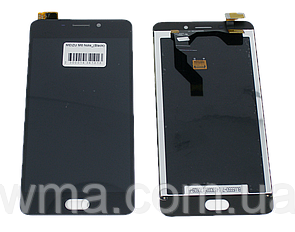 Экран с тачкрином (модуль) для Meizu M6 Note (M721H) чёрный