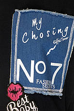 Трикотажное платье oversize, фото 3
