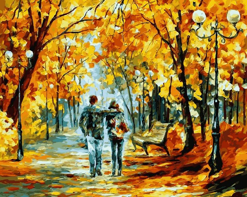 Картина по номерам Теплый октябрь 40 х 50 см (VP523)