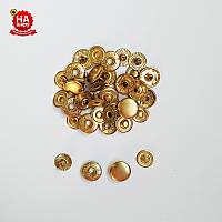 Кнопки для одежды Альфа 12.5мм. Кнопка рубашечная №54, Золото (720шт)