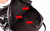 Рюкзак женский кожзам городской Love черный, фото 10