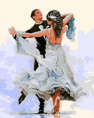 Картина по номерам Свадебный танец 40 х 50 см (VP687)