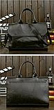 Сумка-портфель черная, фото 2