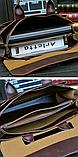 Сумка-портфель черная, фото 3