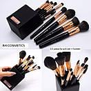 Набор кистей для макияжа BH Cosmetics с подставкой Signature Rose Gold - 13 Piece Brush Set, фото 3