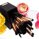 Набор кистей для макияжа BH Cosmetics с подставкой Signature Rose Gold - 13 Piece Brush Set, фото 4