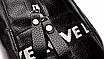 Рюкзак женский кожзам городской Love черный, фото 9