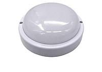 ЖКХ Светодиодный Led светильник накладной IP65 (пыле-влагозащищённый) круг 8w Avaton
