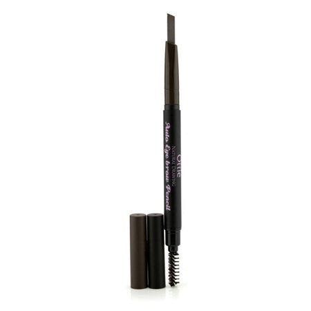Стойкий авто-карандаш для бровей с щеточкой Ottie Natural Drawing Auto Eye Brow Pencil Dark Brown #02 10 мл