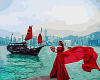 Картина по номерам В вихре алых красок 40 х 50 см (BRM24920)