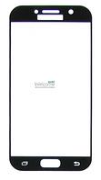 Защитное стекло Samsung A520 (2017) Galaxy A5 Full Glue (0.3 мм, 2.5D, с олеофобным покрытием) black Самсунг А5