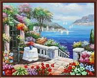 Картина по номерам Веранда у моря 40 х 50 см (BRM6820)
