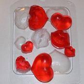 """Сувенирное мыло """"Сердечки-поцелуйчики"""""""
