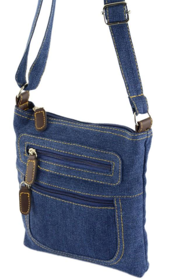 5efff1778c16 Женская джинсовая сумочка Traum 7214-39, синий — только качественная ...