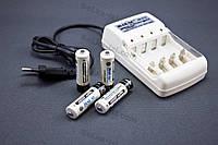 Набор Зарядное устройство + аккумуляторы (4 ш. АА) JIABAO JB-212