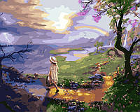 Картина по номерам Дорожка, вымощенная желтым кирпичом 40 х 50 см (BK-GX25608)