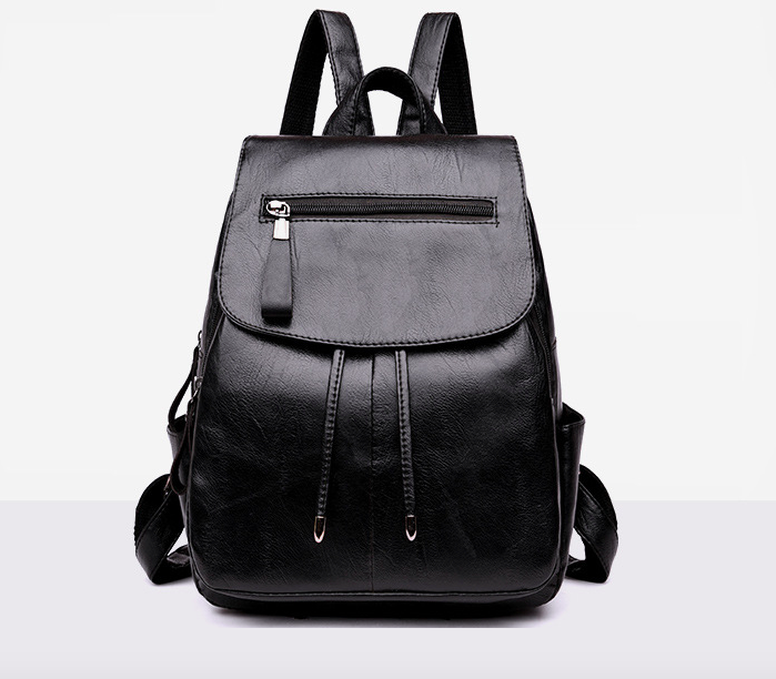 Рюкзак женский кожзам Claudia черный