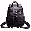 Рюкзак женский кожзам Claudia черный, фото 6