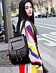 Рюкзак женский кожзам Claudia черный, фото 3