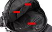 Рюкзак женский кожзам Claudia черный, фото 9