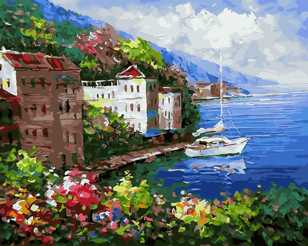 Картина по номерам Тихая гавань 40 х 50 см (BRM22547)