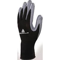 Перчатки трикотажные с нитриловым покрытием Delta Plus VE712GR, ОПЗ и МВ
