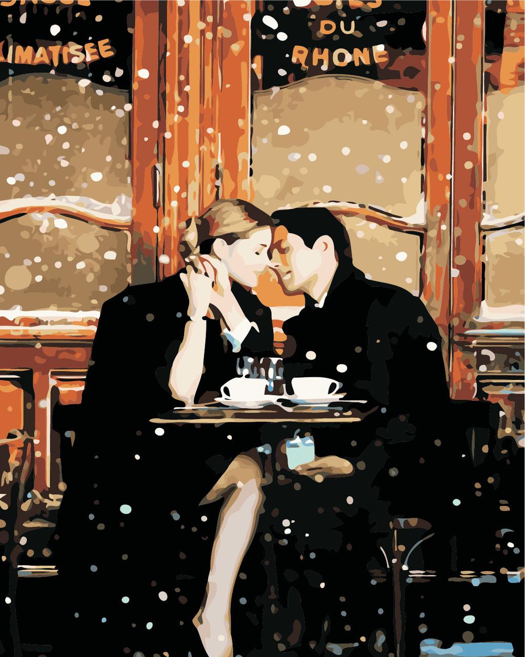 Картина по номерам Сказочное свидание 40 х 50 см (AS0434)