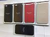 Накладка Leather case iPhone 6 high copy (кожа) белый