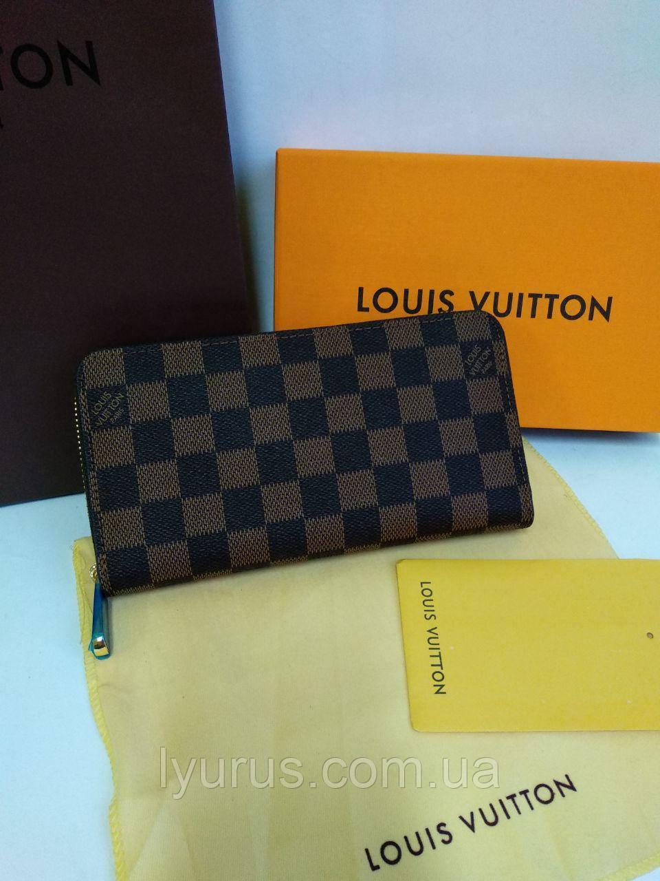 cf5a54c059c9 Кожаный кошелек Louis Vuitton Луи Виттон - Интернет магазин LyuRus в Полтаве