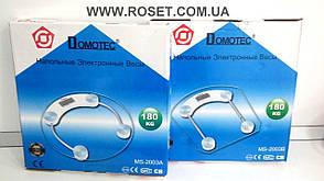 Напольные электронные весы Domotec  MS-2003А (MS-2003B) - до 180 кг