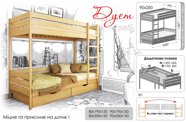 Кровать Дуэт тм Эстелла (Характеристики)