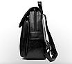 Рюкзак женский кожзам городской Be Young черный, фото 5