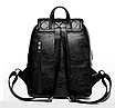 Рюкзак женский кожзам городской Be Young черный, фото 6