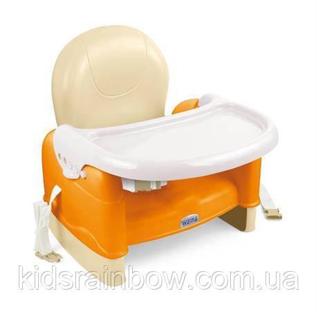 WEINA Стульчик-Бустер для кормления EasyGo оранжевый
