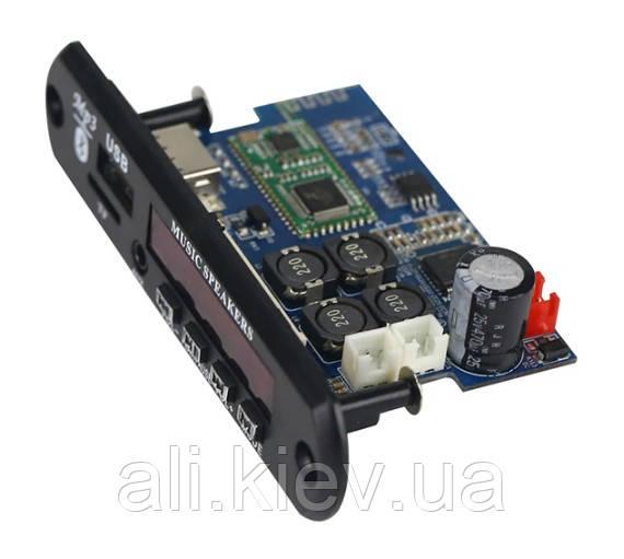 Мультиплеер с усилителем TDA7492P 2*25Вт USB TF FM AUX Bluetooth 4.2 12 -24V  D-класс Підсилювач  аудио плата