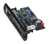 Мультиплеер с усилителем TDA7492P 2*25Вт USB TF FM AUX Bluetooth 4.2 12 -24V  D-класс Підсилювач  аудио плата, фото 1