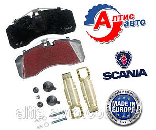 Тормозные колодки Scania серия 4, G,P,R,T (запчасти)