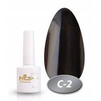 Гель-лак Nice for you C-2 (черный), 8,5 мл